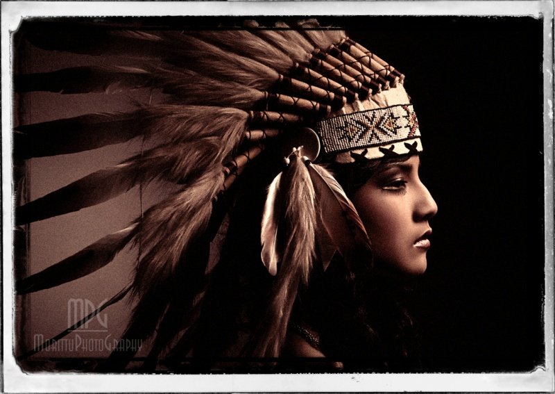 my studio - Florence - Italy May 28, 2010 Marco Morittu - MorittuPhotoGraphy Native American Portrait Project