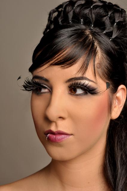 Female model photo shoot of LoganEllisPro Hair MUA in LA