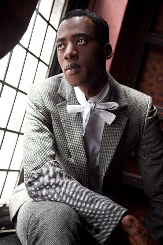 Male model photo shoot of Absss by Ben Lee Photography in London Jewel Bar, makeup by Sophia Danielle