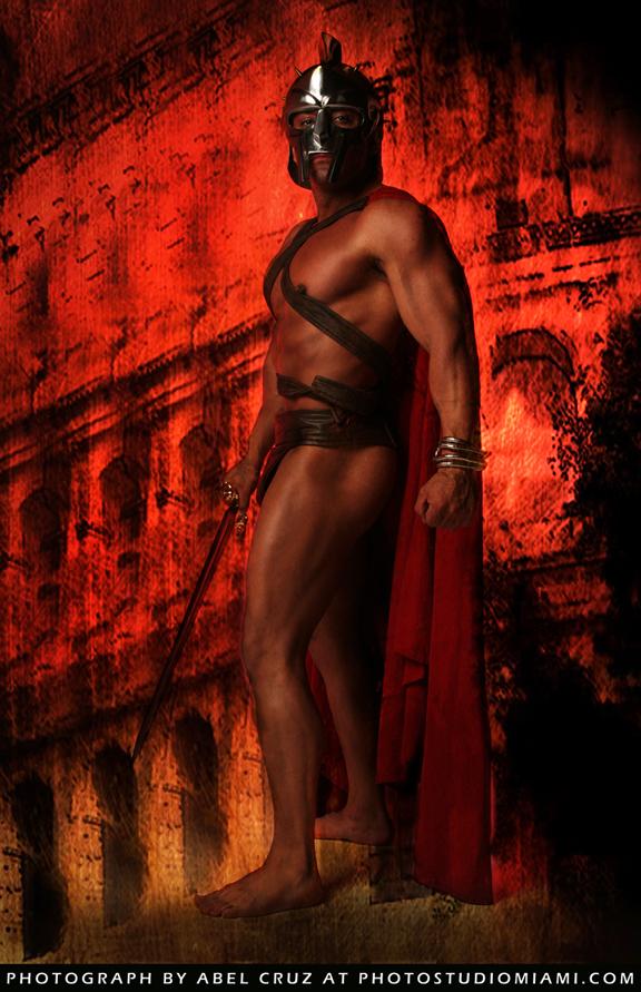 Dead Pixel Studios / Davie, Florida May 31, 2010 Photo Studio Miami model: Delphin / Gladiator Series
