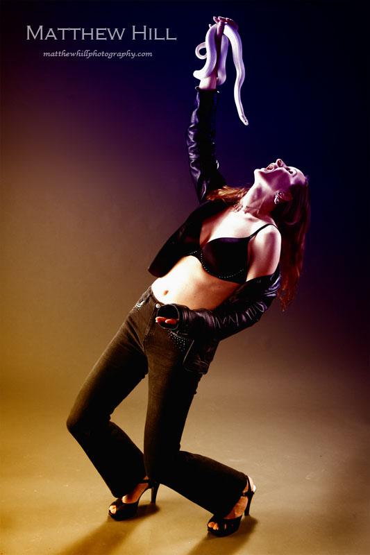 Female model photo shoot of Hawk and Model by Matthew E Hill in Ventura, California