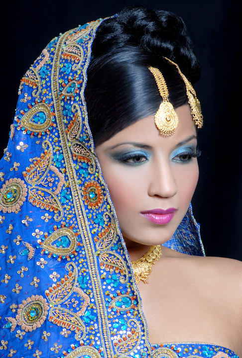 Photoshoot With The Lubna Rafiq Academy-Birmingham Jun 01, 2010 Model - Bhavya Gowda  Photographer Paul West