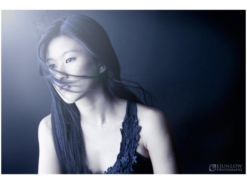 Female model photo shoot of Winnie L by Ejun Low