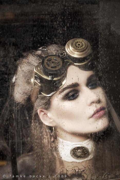 The Netherlands Jun 04, 2010 Famke Backx (Model: Charlotte | MUA: Helma van Moorsel) Steampunk