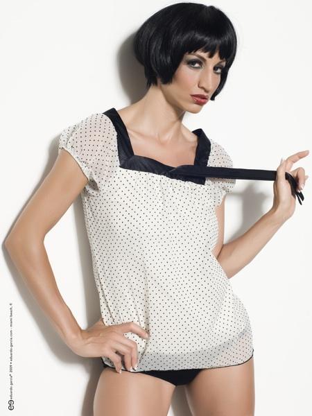 Female model photo shoot of Anita Menotti by eg in Miami, makeup by Virginia Le Fay