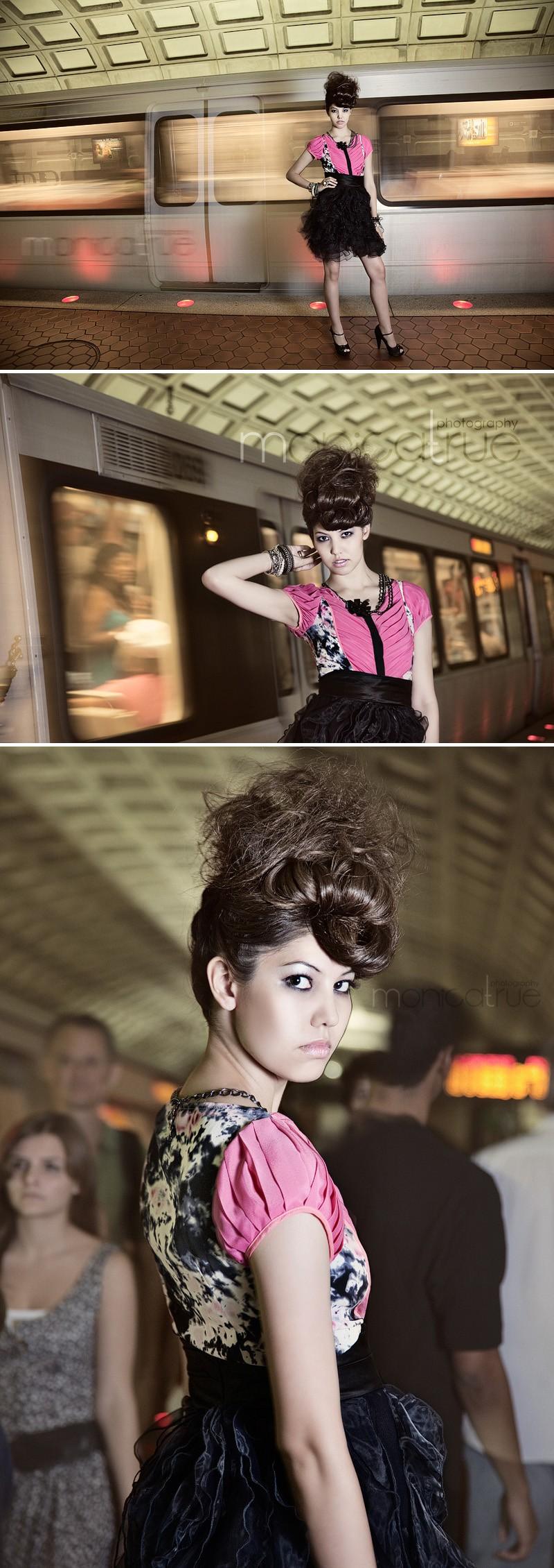Washington Metro Center Jun 05, 2010 © Monica True Hair Styling by Darrell Thompson
