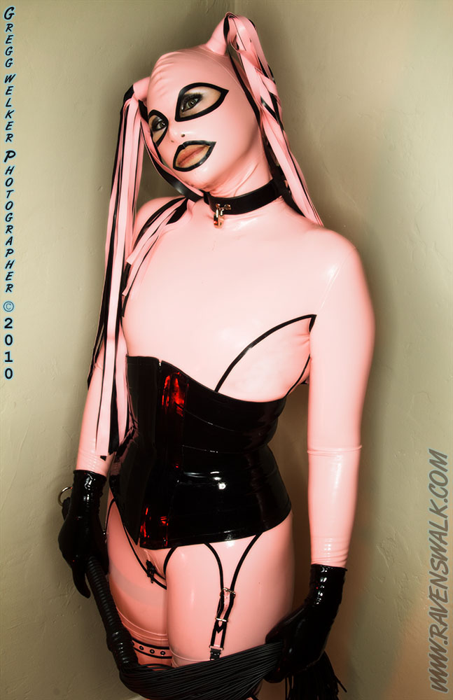 Beverly Hills, CA Jun 06, 2010 greggwelker(c)2010 Pink and Black Rubber Fantastic w/ Rubber Elle