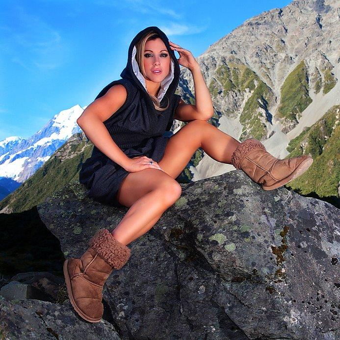 Mount Cook, New Zealand Jun 06, 2010 Fashion Capital tour Mountains of fashion