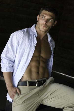 Male model photo shoot of Cazimir by nikonrob