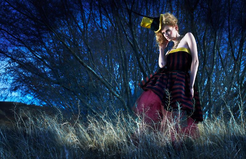 Female model photo shoot of Lizzy Rockabella