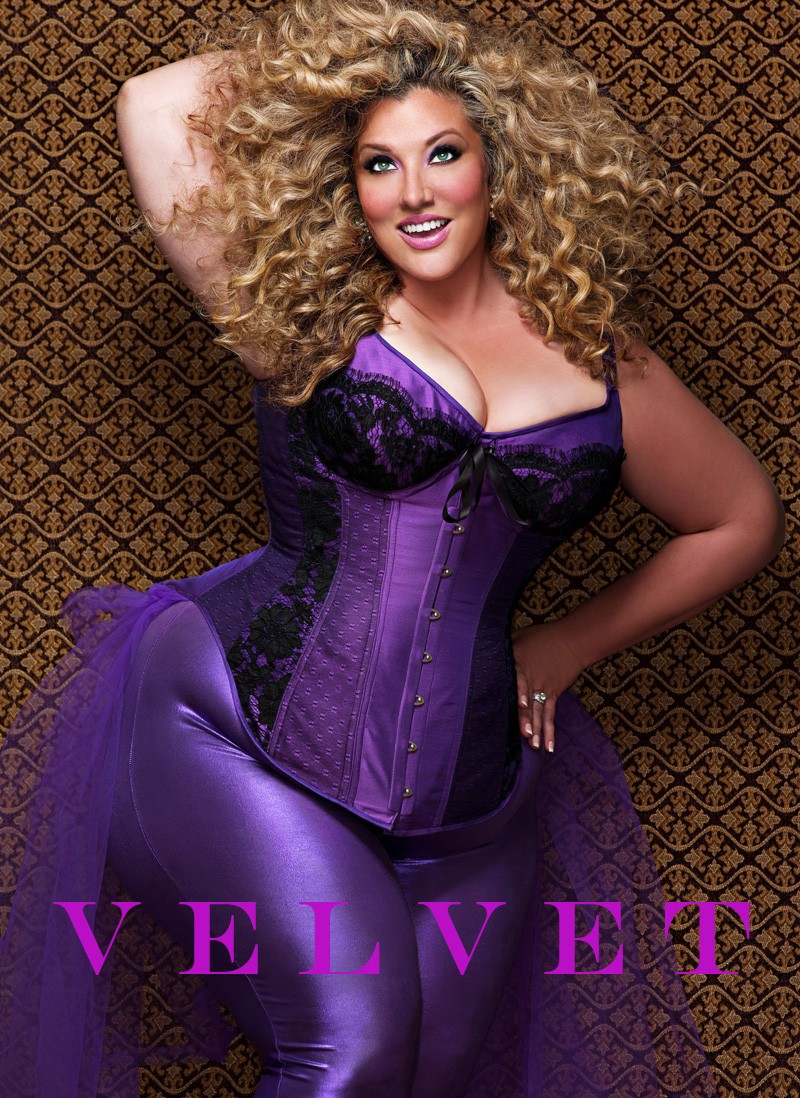 NYC Jun 09, 2010 Maya Guez Violet Velvet