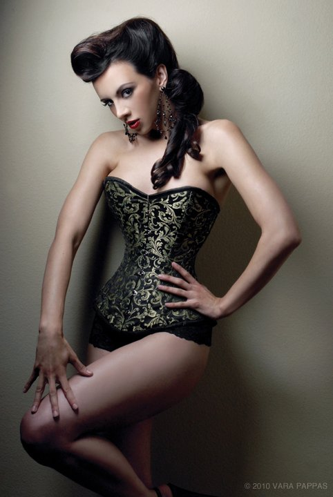 Jun 10, 2010 photo by vara pappas, mua/hair angel jagger. corset by versatile corsets kerri taylor fancy corset pinup