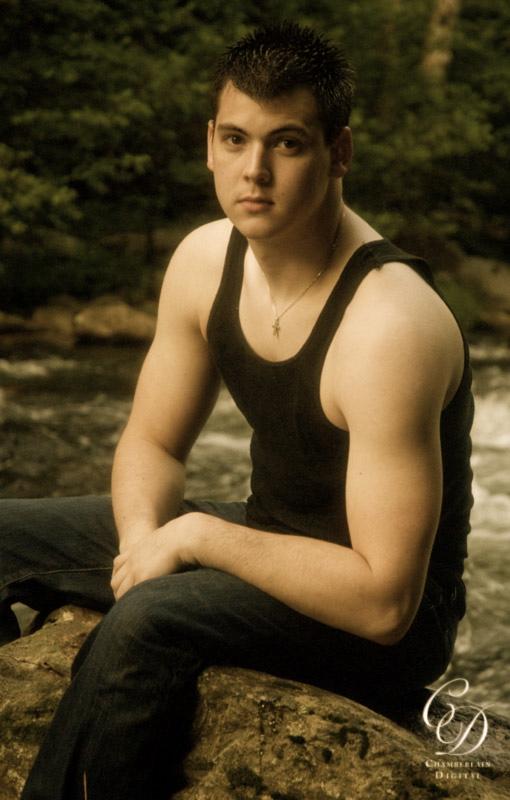 Male model photo shoot of Preston Douglas by Chamberlain Studios