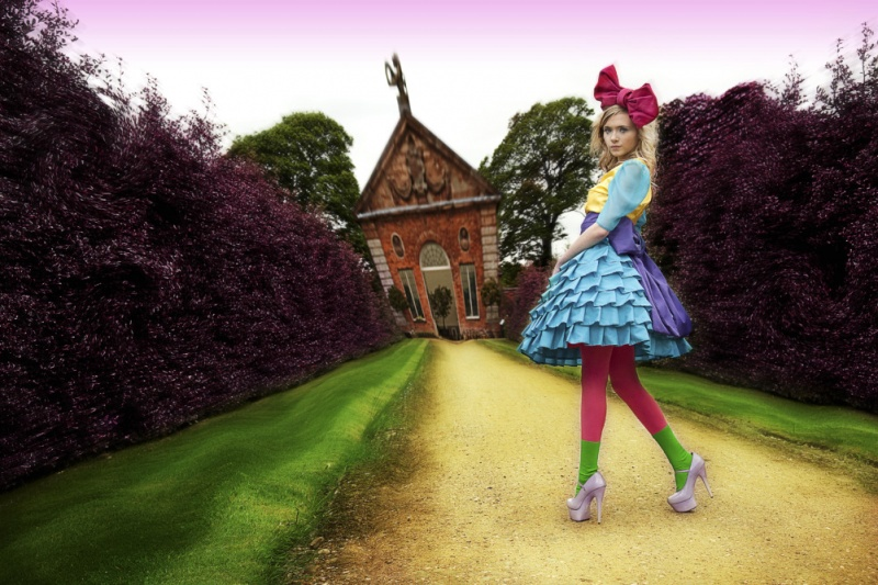 Jun 11, 2010 COPYRIGHT Photographer: Adam Moffatt  Clothing Designer: Victoria Bramwell Alice in Wonderland photoshoot COPYRIGHT Photographer: Adam Moffatt Clothing Designer: Victoria Bramwell