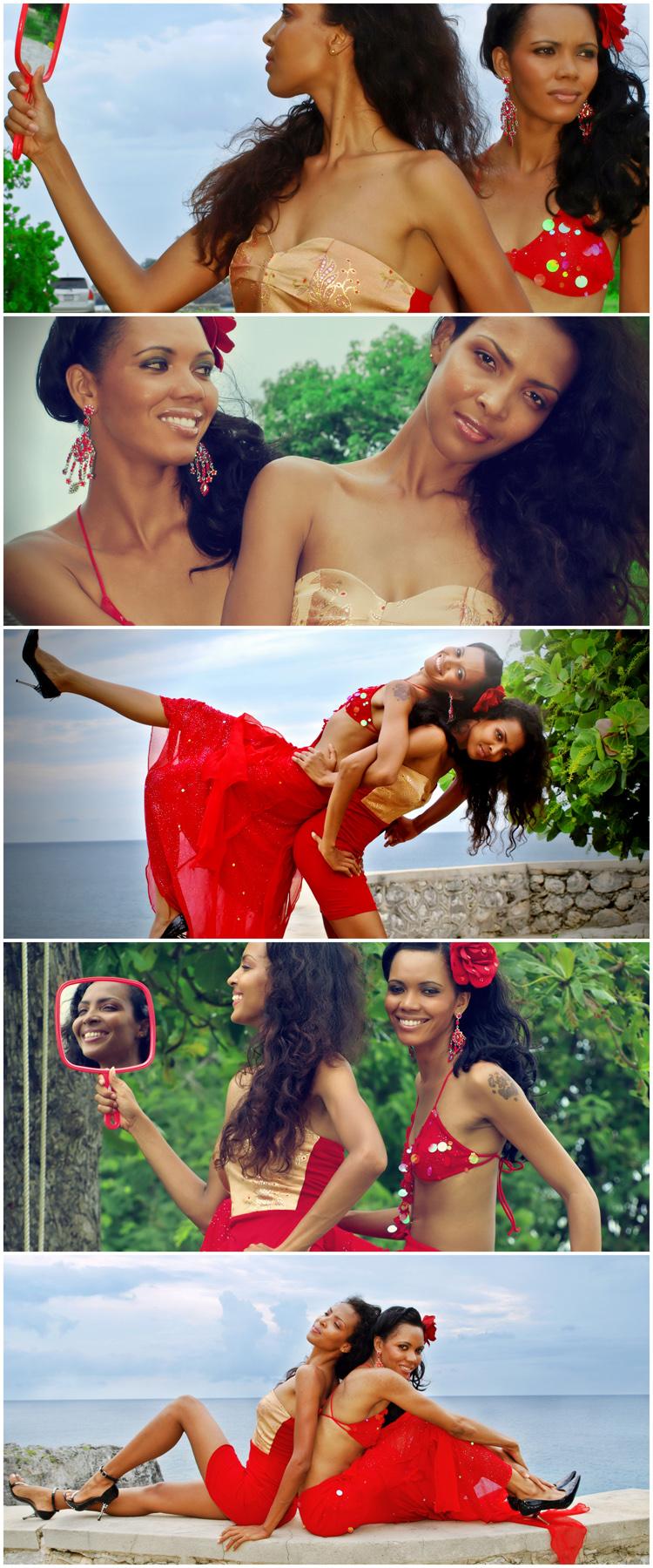 Negril, Jamaica. Jun 11, 2010 Cosmotees PhotoOvr Nicky Kerr & Nicolette Gomex