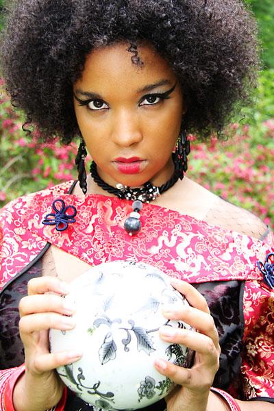 Female model photo shoot of QIANA M by London Media Studio in Cranbrook - Bloomfield Hills,MI, wardrobe styled by Dana Keaton Collection