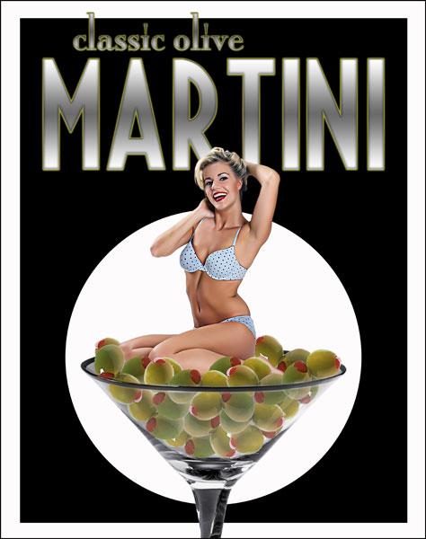 Jun 13, 2010 Al Abbazia Classic Olive Martini