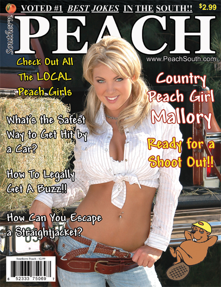 Jun 15, 2010 Southern Peach Magazine Model ~ Mallory Clark & Photographer ~ Michael Barron Aguirre