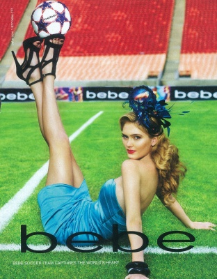 Jun 16, 2010 world cup bebe campaign/ juiliana bekor