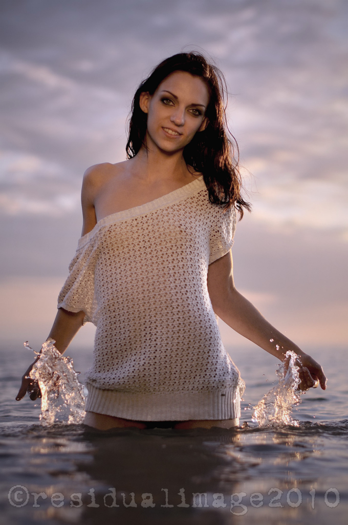Crescent beach Jun 17, 2010 Residual Images + Model Summer lovin