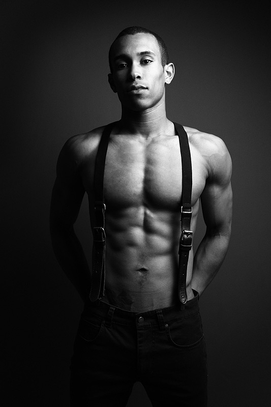 Male model photo shoot of Tao Sean by Mark Bruce Photography