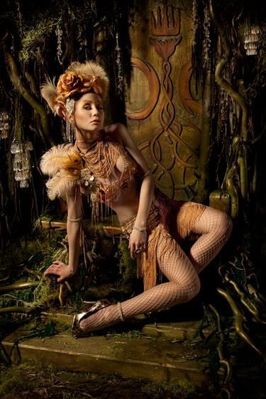 Female model photo shoot of Black Lotus Clothing and Dashinka by Jason_Mitchell, hair styled by Hair by Lorenzo Diaz