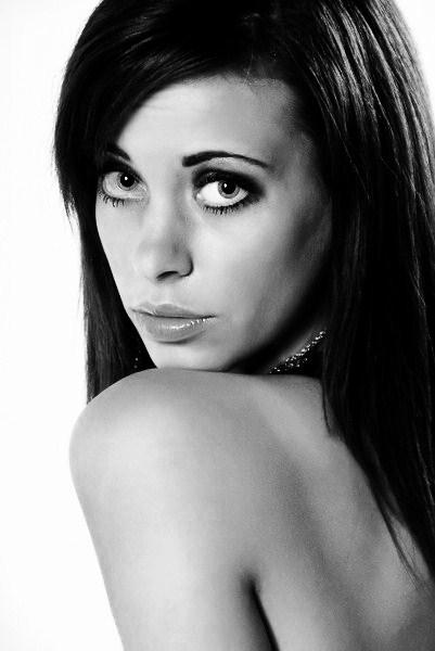 Female model photo shoot of StaceyClark by _NJ in The Burlington Art Centre, makeup by Chelsea Dutchak