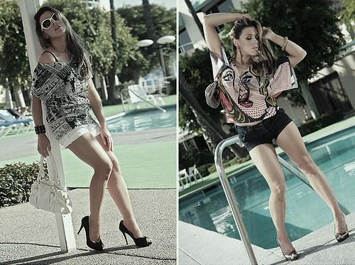 Los Angeles USA Jun 20, 2010 Romeo Pirez fashion label pool fashions