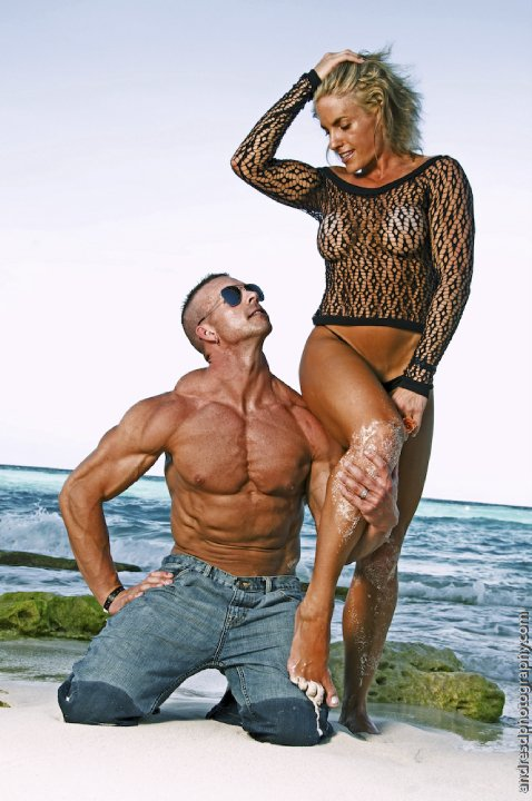 Male model photo shoot of Kris Vigus in Cancun, Mexico