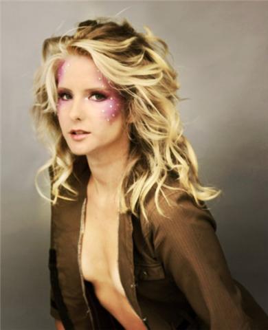 Female model photo shoot of Michelle Mason Makeup by Cathleen Tarawhiti