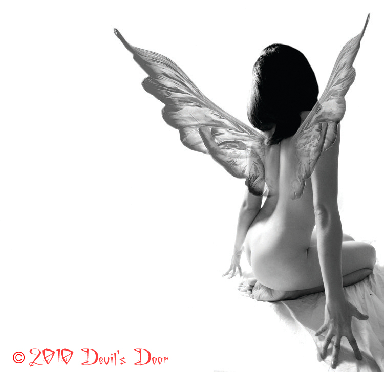 Male model photo shoot of Devils Door in ny