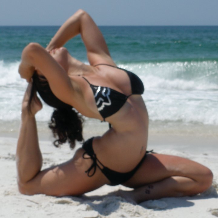 Fort Walton, FL Jun 27, 2010 Sorry its blurry! I am very interested in getting more  yoga poses photographed.
