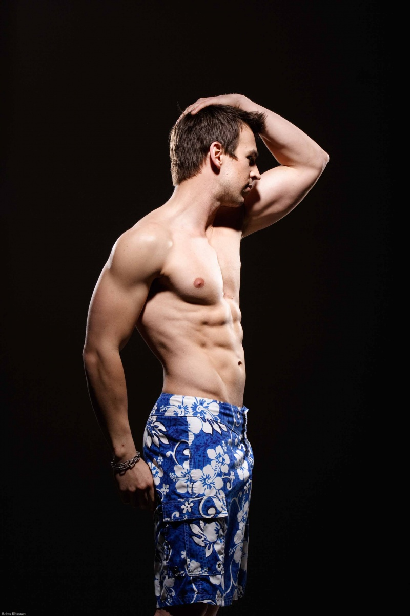 Male model photo shoot of Christopher Craig by Ikrima