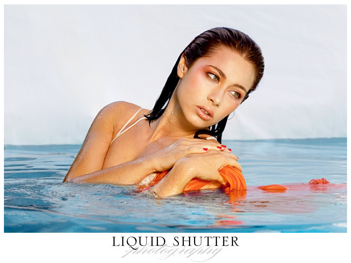 My pool Jul 01, 2010 Liquid Shutter Makeup by Heather Pearson
