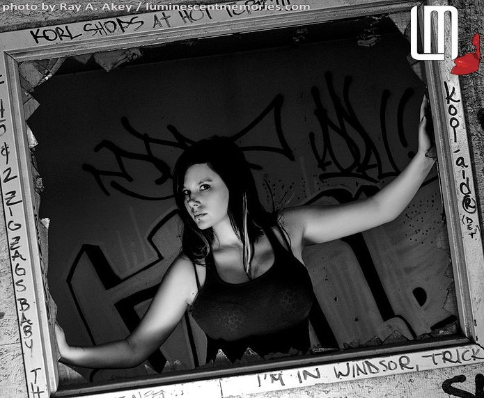 Female model photo shoot of Ashli Kerrigan by Ray Akey in Windsor, On