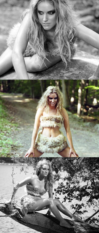 Female model photo shoot of KVP, makeup by Holly Glitter Gun