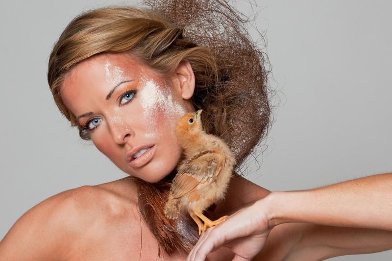 TYE Photog Andre Rowe Jul 03, 2010 makeup myself for Chic Chic mua LLLC