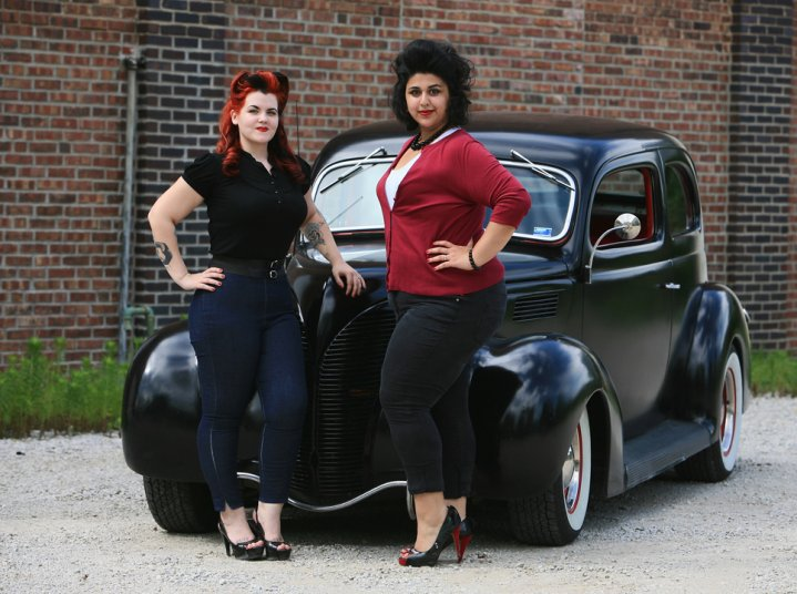Female model photo shoot of Soraya Dee Hair  and Ruthie Holiday by Gears and Gals in Pleasant Hill, MO