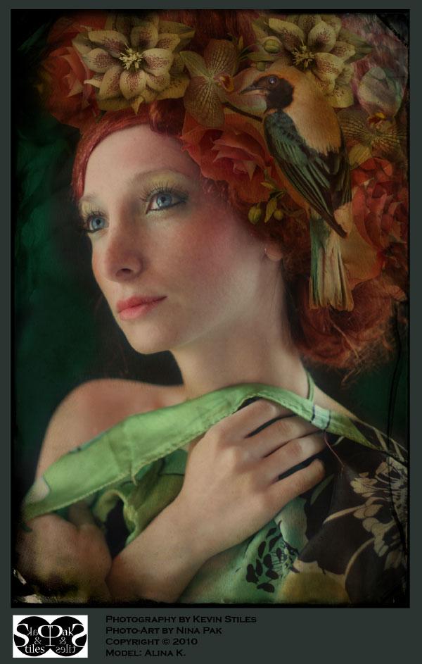 Female model photo shoot of Alina Belochka by Nina pak and Kevin Stiles
