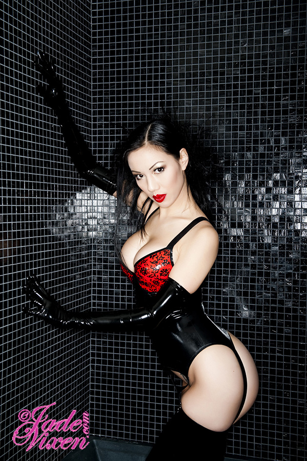 Female model photo shoot of Jade Vixen by Photos by Vance