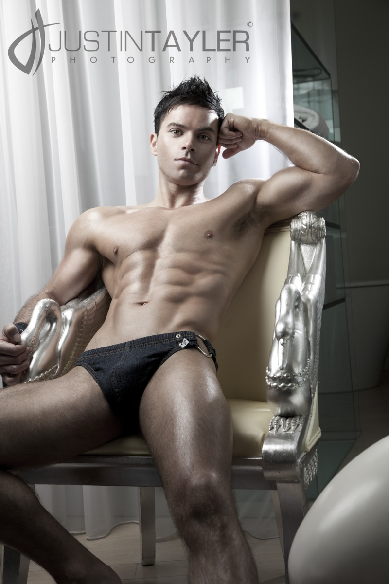 Picture About Male Model Charley Marsh from London, England, United Kingdom