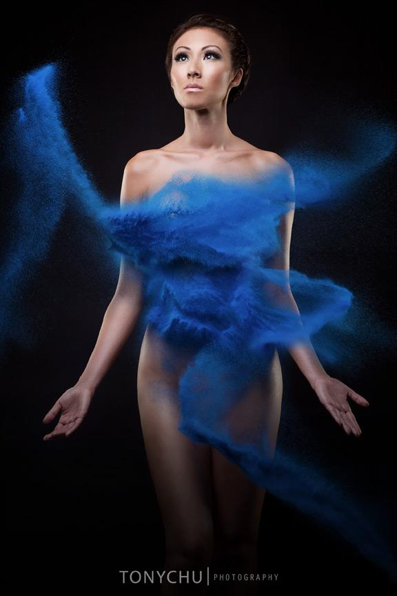 Female model photo shoot of KT So by TONY CHU PHOTOGRAPHY, makeup by Morgan Panter