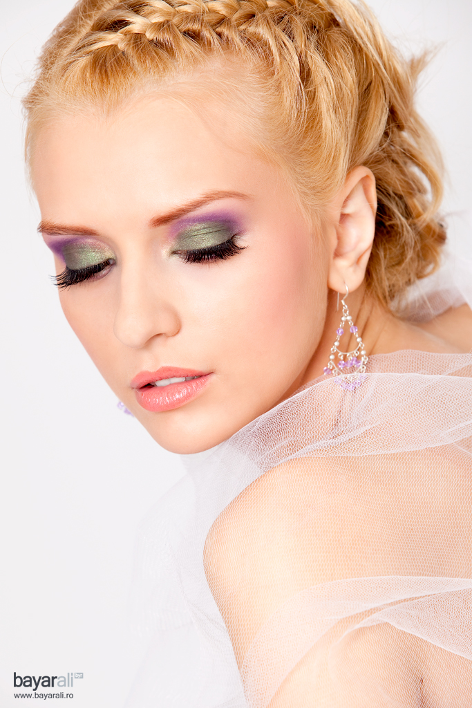 Studio Jul 06, 2010 Make-up Artist: Mirela Niculai Estetica Awards 2010 - 1st place (Bridal make-up - Cristina F.)