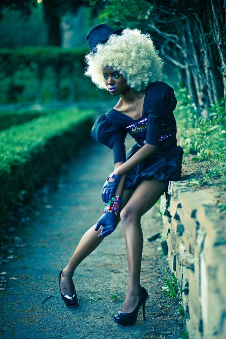 Female model photo shoot of Nabs Zion by Steve Alkok, wardrobe styled by AyeshaFlyChick, makeup by Renata De Thomasis