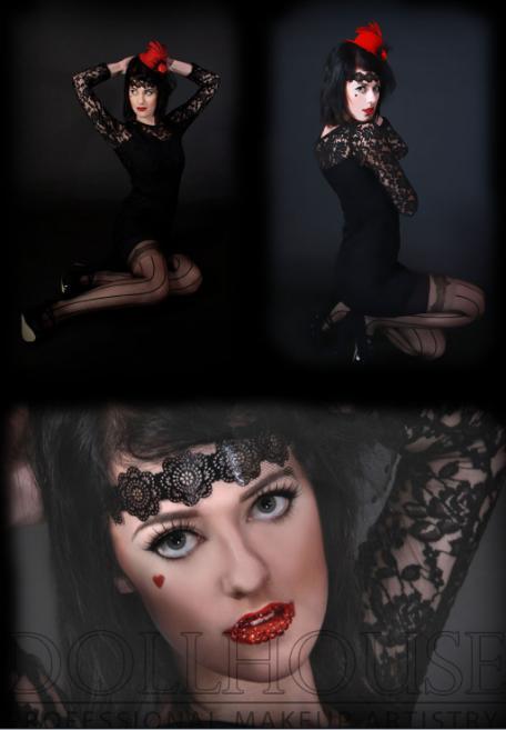 Female model photo shoot of Chevy Dean, makeup by Sarah Marie Summer MUA