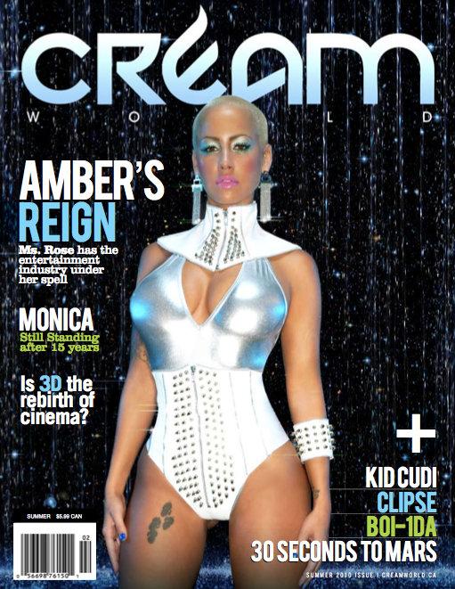 Toronto Jul 07, 2010 Rohan Laylor New Cream World Edition- Summer 2010 featuring Amber Rose