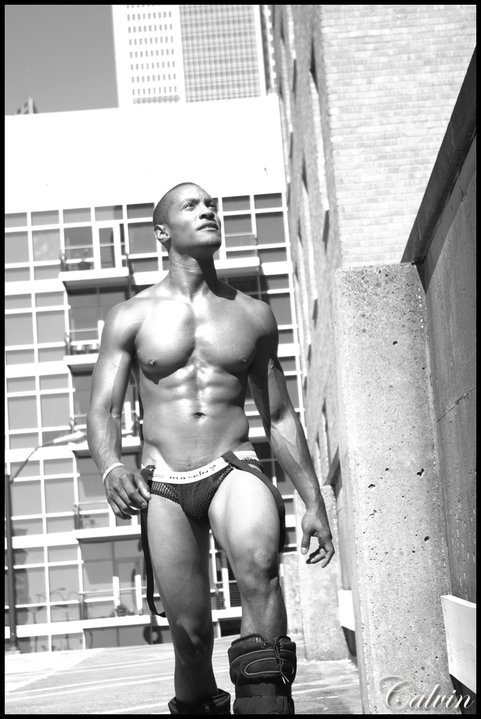 Male model photo shoot of David Bates II by calvinbrockington in Downtown Dallas, TX