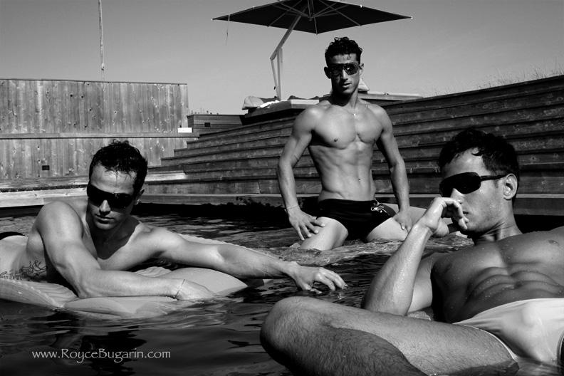 Fire Island Jul 07, 2010 royce bugarin Elementos Brazil Underwear Shoot