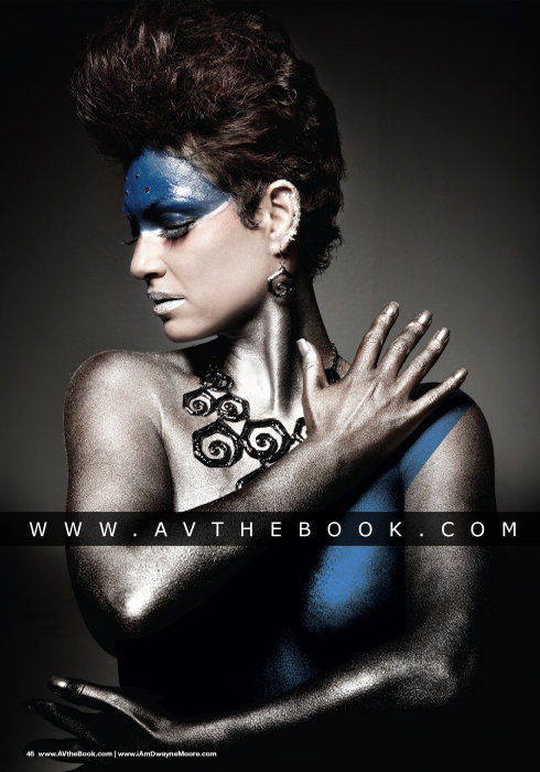 Orlando, Florida Jul 07, 2010 Photographer: Dwayne Moore Hair & Body Paint: Angel Cardona Model: Ms. Berry