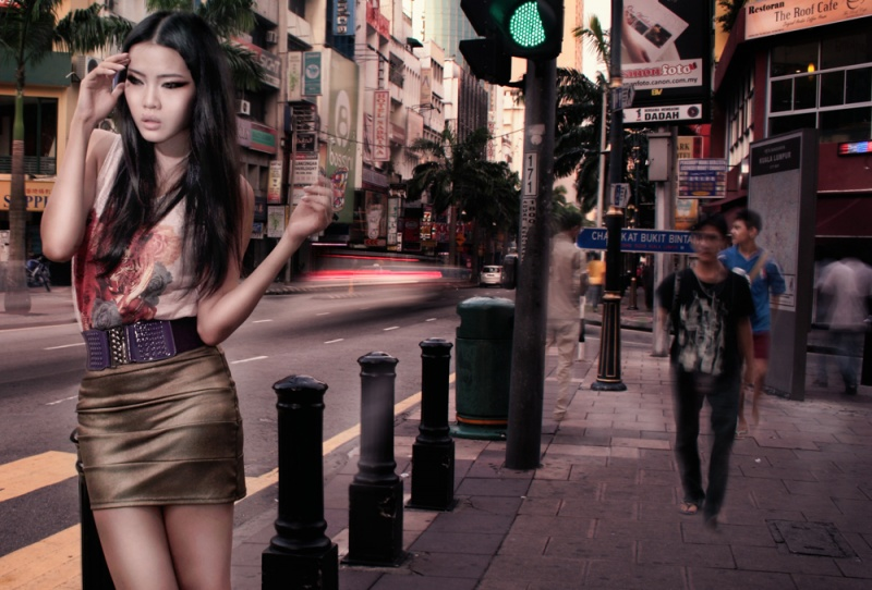 Female model photo shoot of Evon T